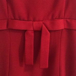 Laundry By Shelli Segal Dresses - Strapless red dress